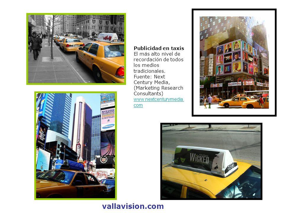 vallavision.com Publicidad en taxis