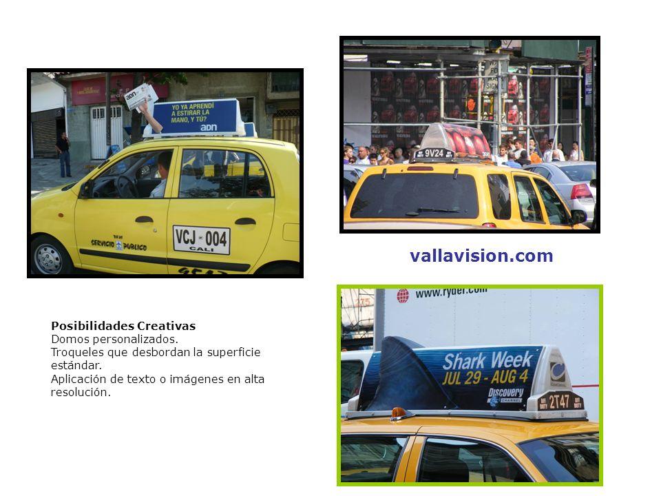 vallavision.com Posibilidades Creativas Domos personalizados.