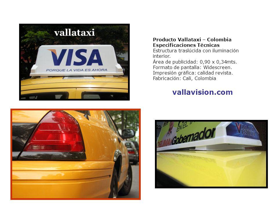 vallataxi vallavision.com Producto Vallataxi – Colombia
