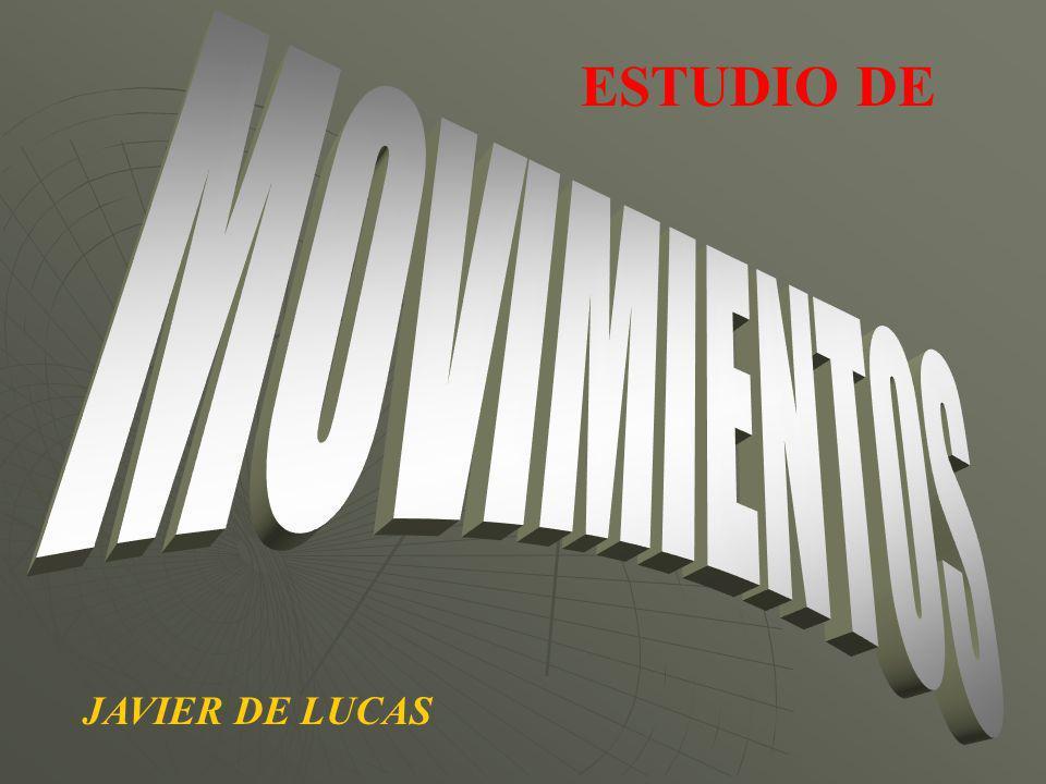 ESTUDIO DE MOVIMIENTOS JAVIER DE LUCAS