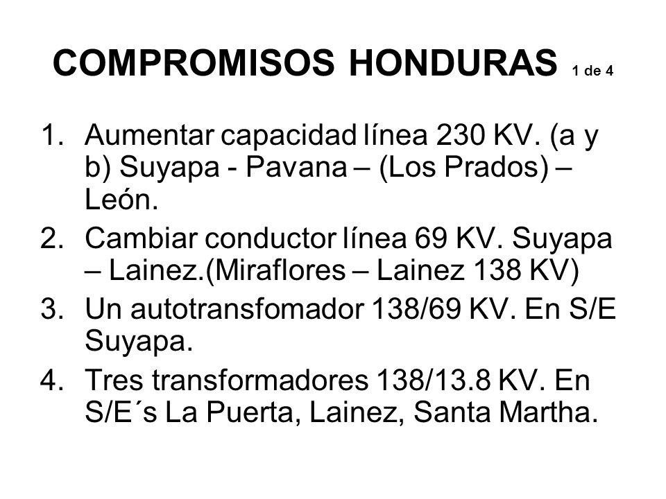 COMPROMISOS HONDURAS 1 de 4