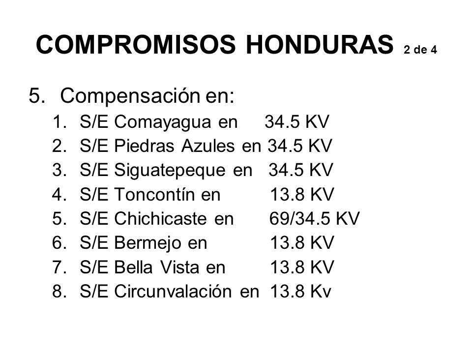 COMPROMISOS HONDURAS 2 de 4