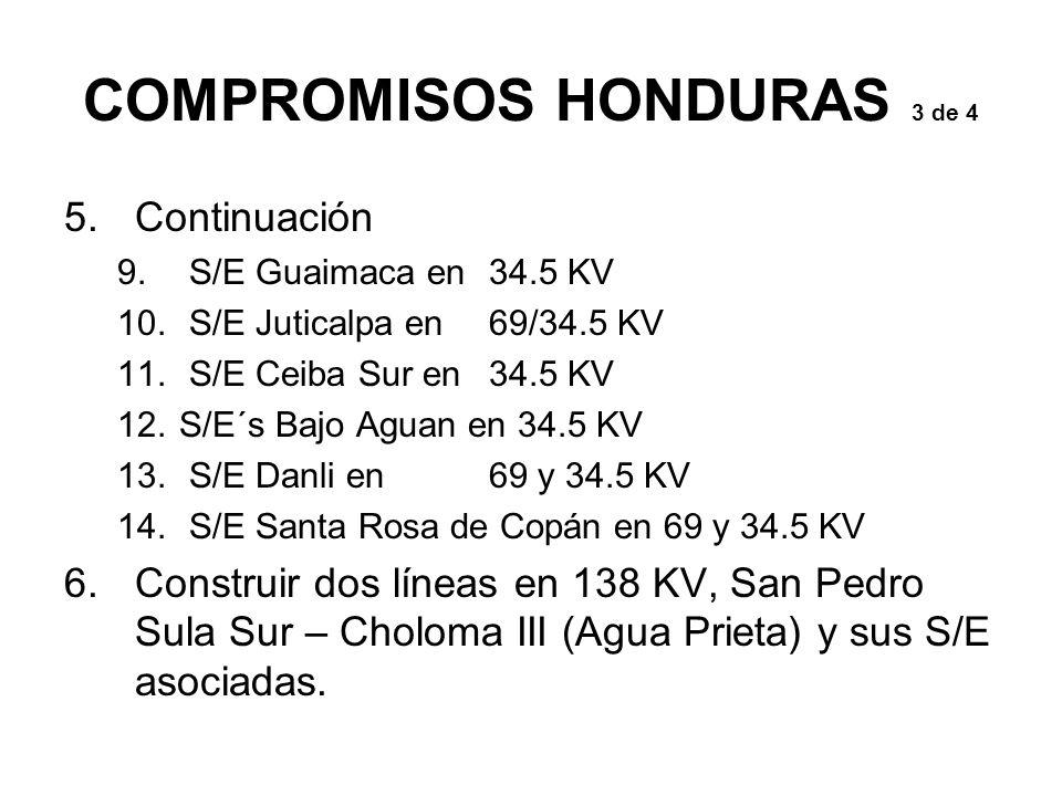 COMPROMISOS HONDURAS 3 de 4