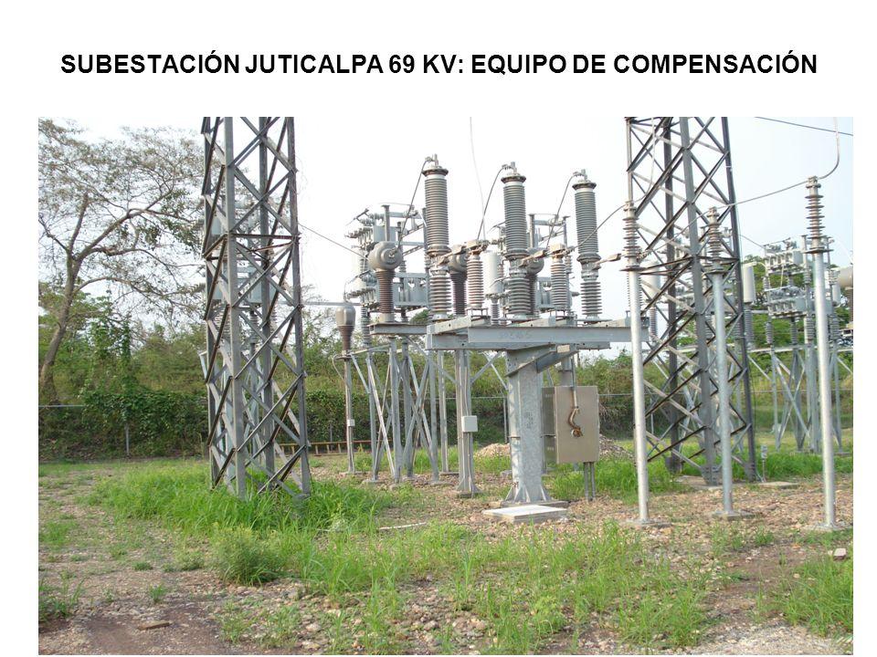 SUBESTACIÓN JUTICALPA 69 KV: EQUIPO DE COMPENSACIÓN