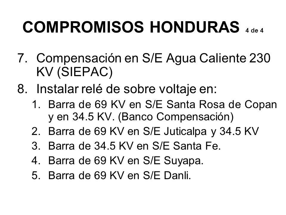 COMPROMISOS HONDURAS 4 de 4