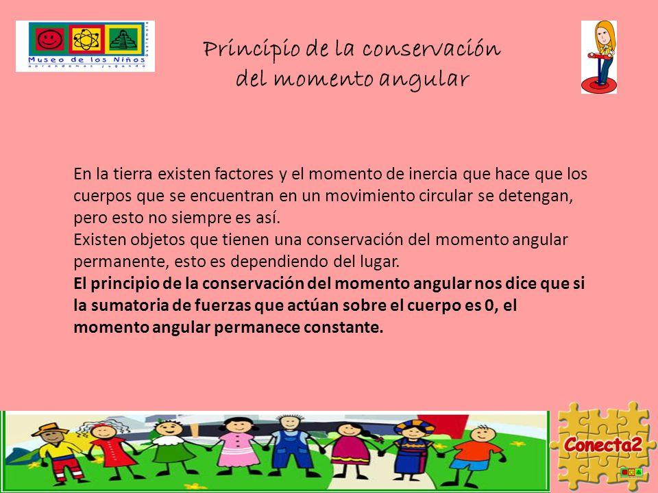 Principio de la conservación del momento angular