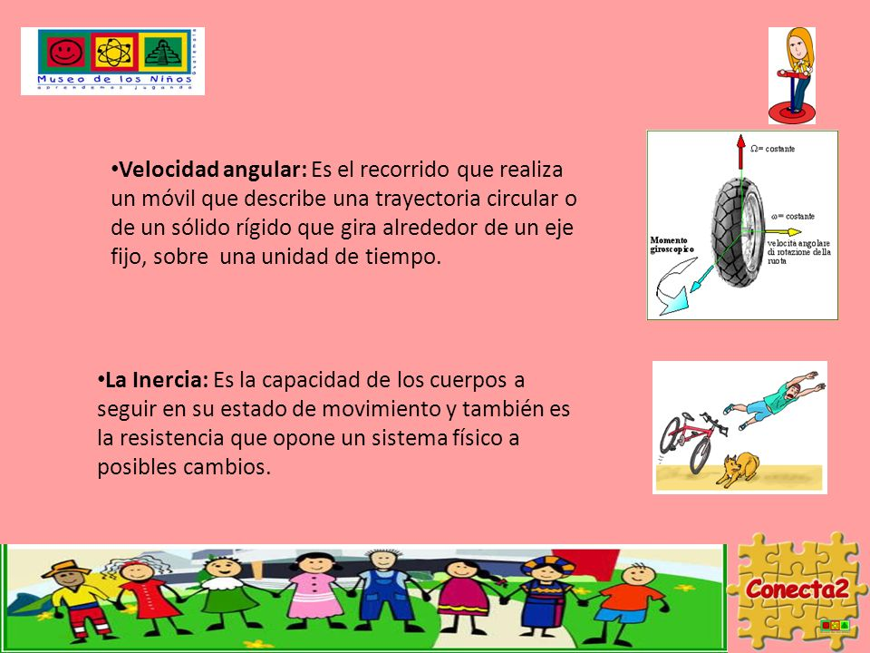 Velocidad angular: Es el recorrido que realiza un móvil que describe una trayectoria circular o de un sólido rígido que gira alrededor de un eje fijo, sobre una unidad de tiempo.