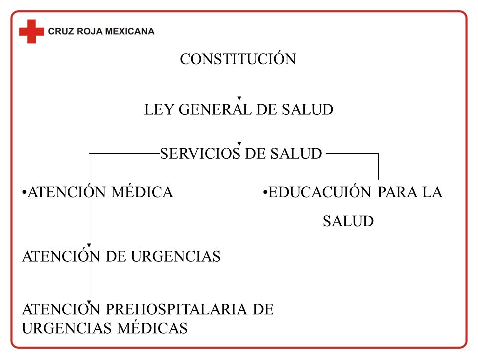 CONSTITUCIÓN LEY GENERAL DE SALUD. SERVICIOS DE SALUD. ATENCIÓN MÉDICA. EDUCACUIÓN PARA LA. SALUD.