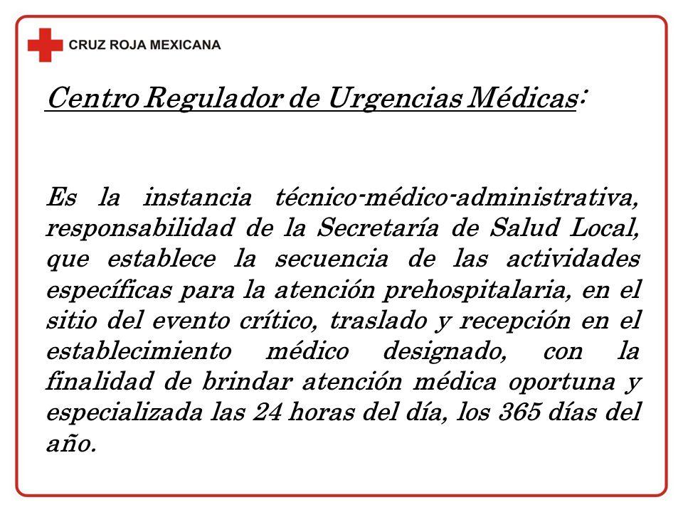 Centro Regulador de Urgencias Médicas: