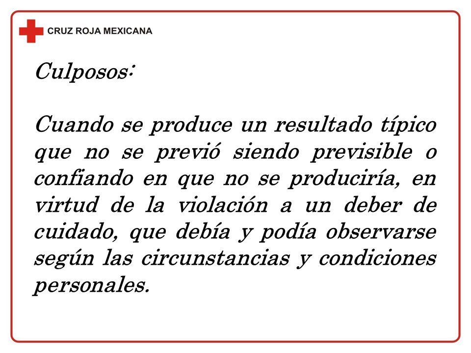 Culposos: