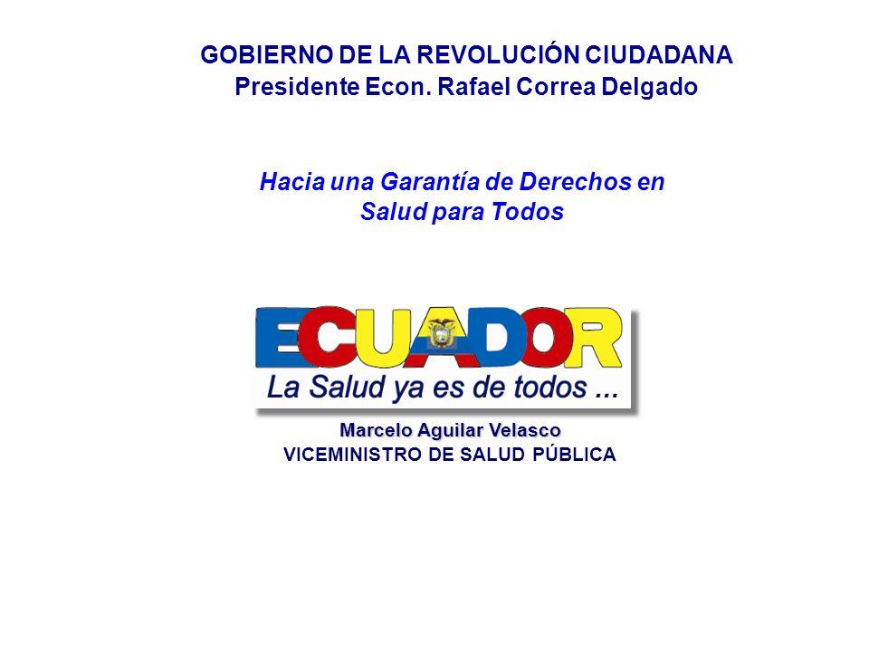 GOBIERNO DE LA REVOLUCIÓN CIUDADANA