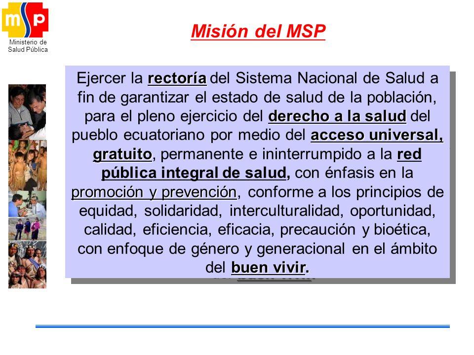 Misión del MSP