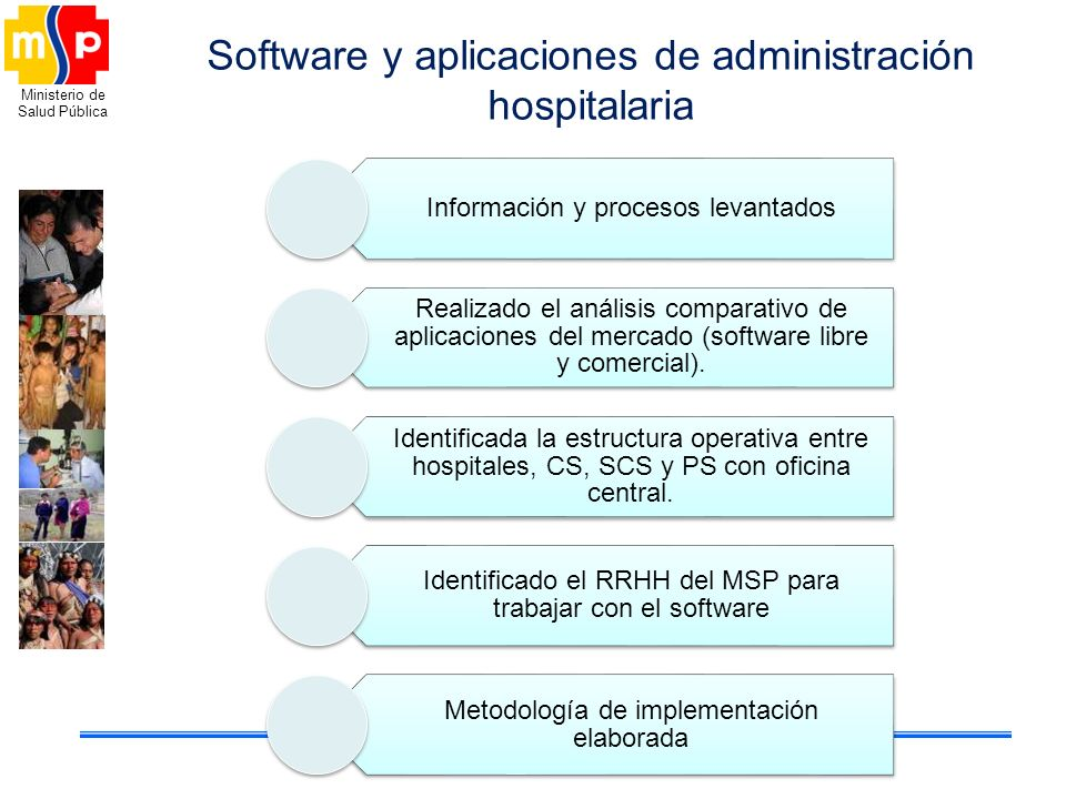 Software y aplicaciones de administración hospitalaria