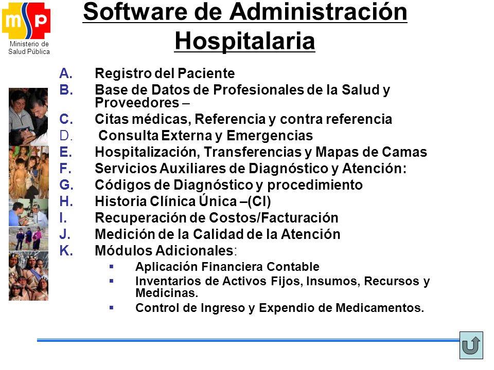 Software de Administración Hospitalaria
