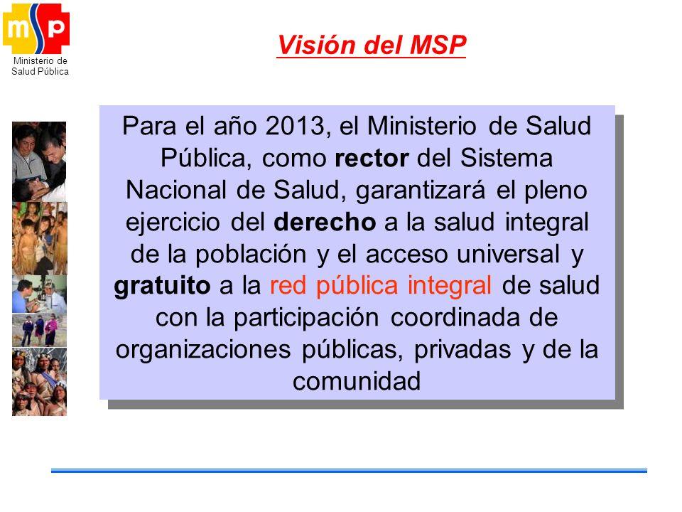 Visión del MSP