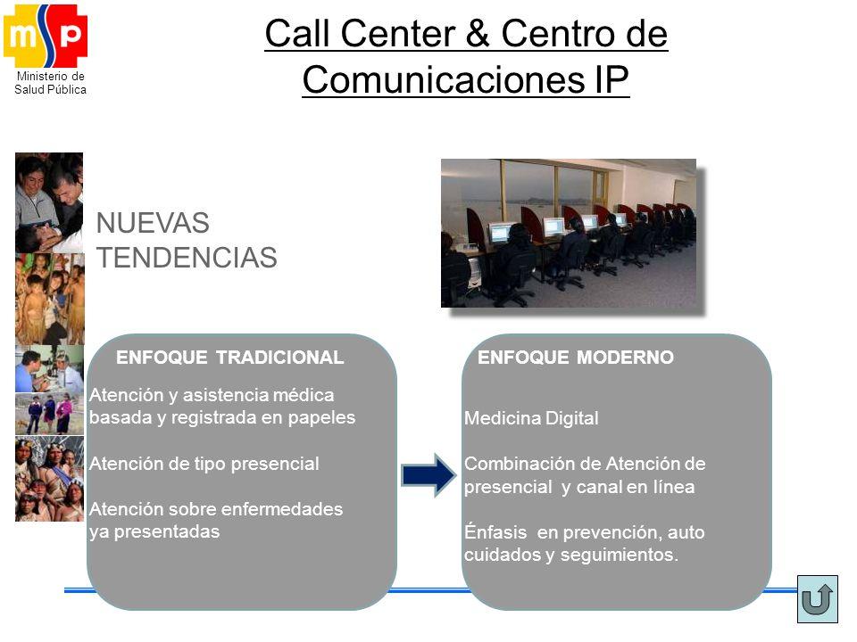 Call Center & Centro de Comunicaciones IP