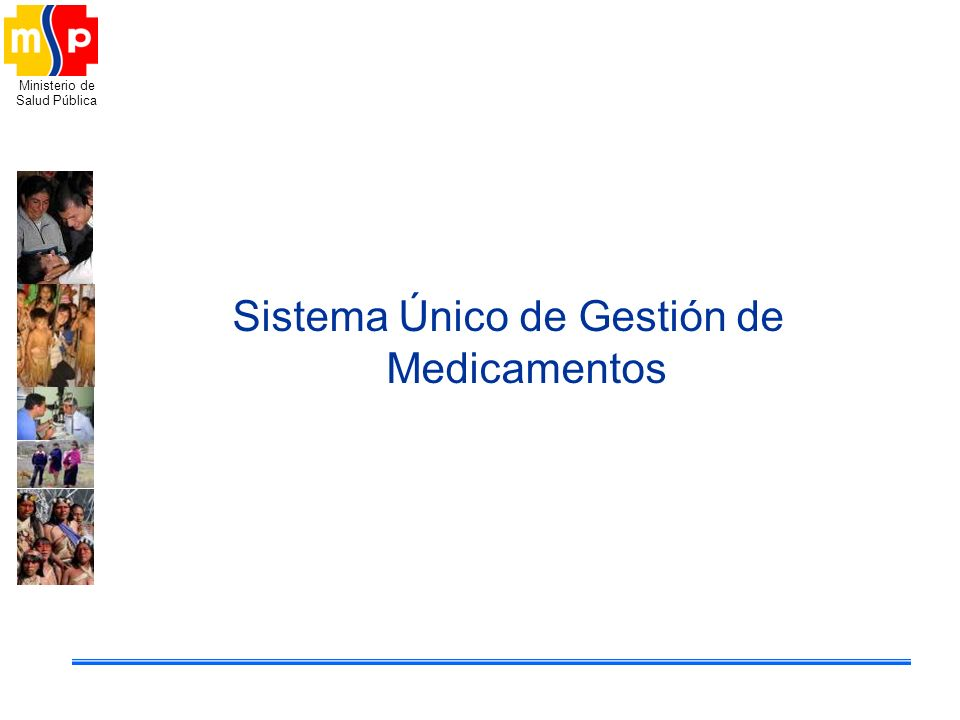 Sistema Único de Gestión de Medicamentos
