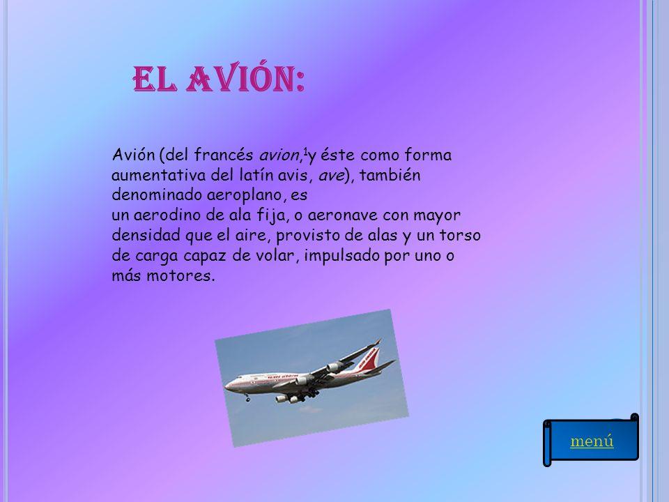 El avión: