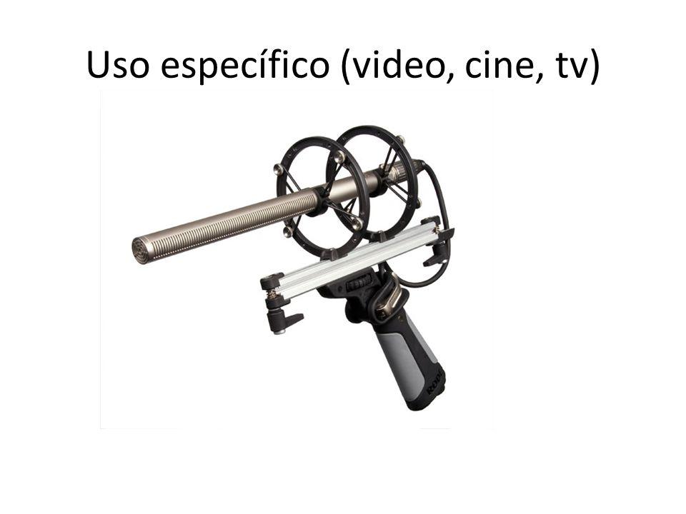 Uso específico (video, cine, tv)
