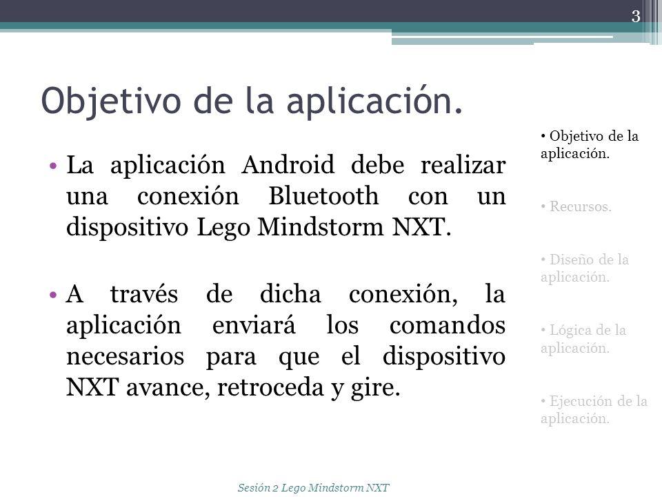 Objetivo de la aplicación.