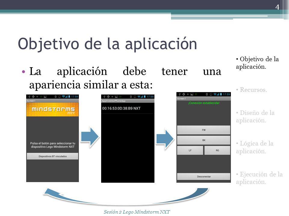 Objetivo de la aplicación