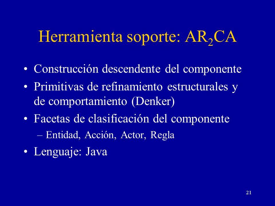 Herramienta soporte: AR2CA