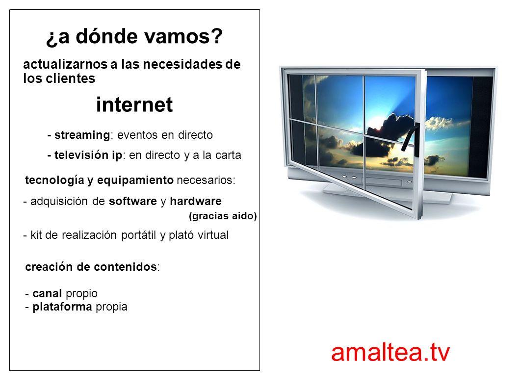 amaltea.tv ¿a dónde vamos internet