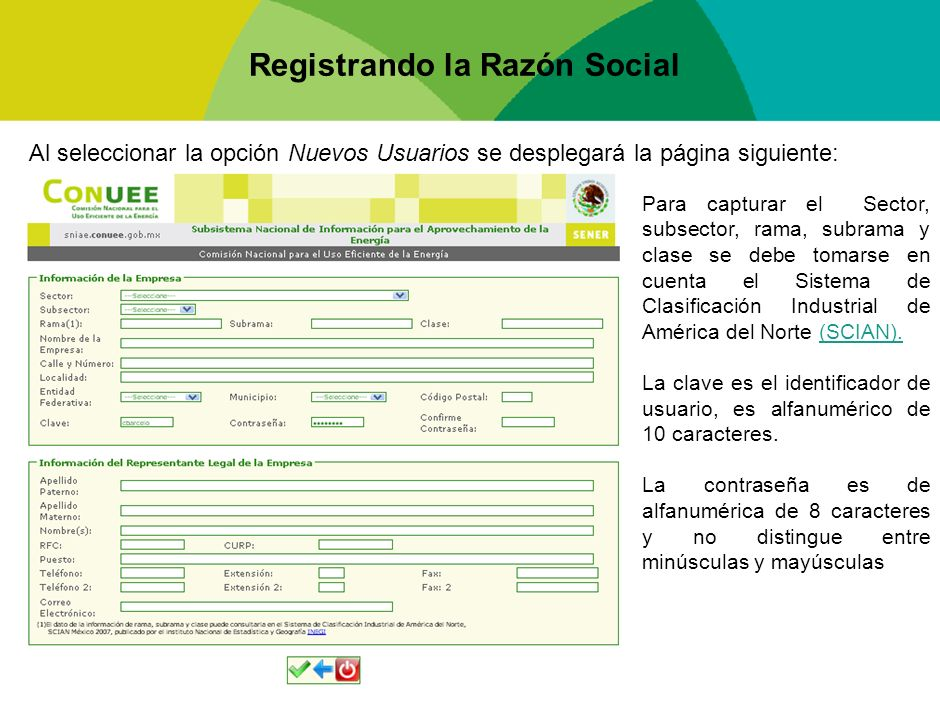 Acceso al Sistema Una vez registrado el usuario, podrá ingresar al sistema con la clave y contraseña que el mismo definió.