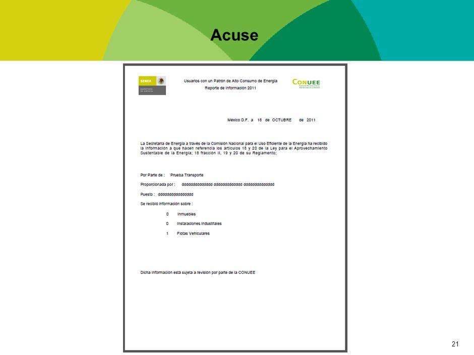 Formatos de Captura para Usuarios con Patrón de Alto Consumo (UPAC) -Transporte