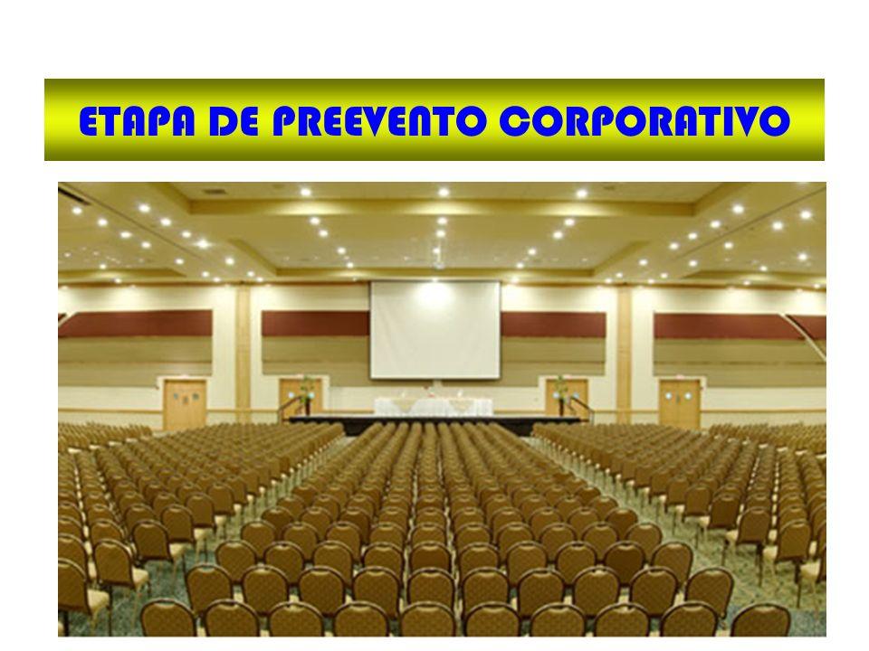 ETAPA DE PREEVENTO CORPORATIVO