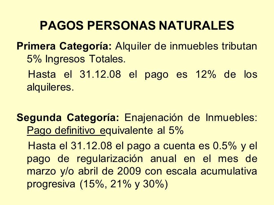 PAGOS PERSONAS NATURALES