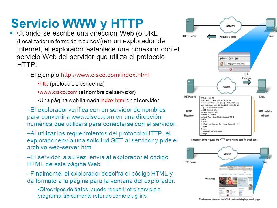 Servicio WWW y HTTP