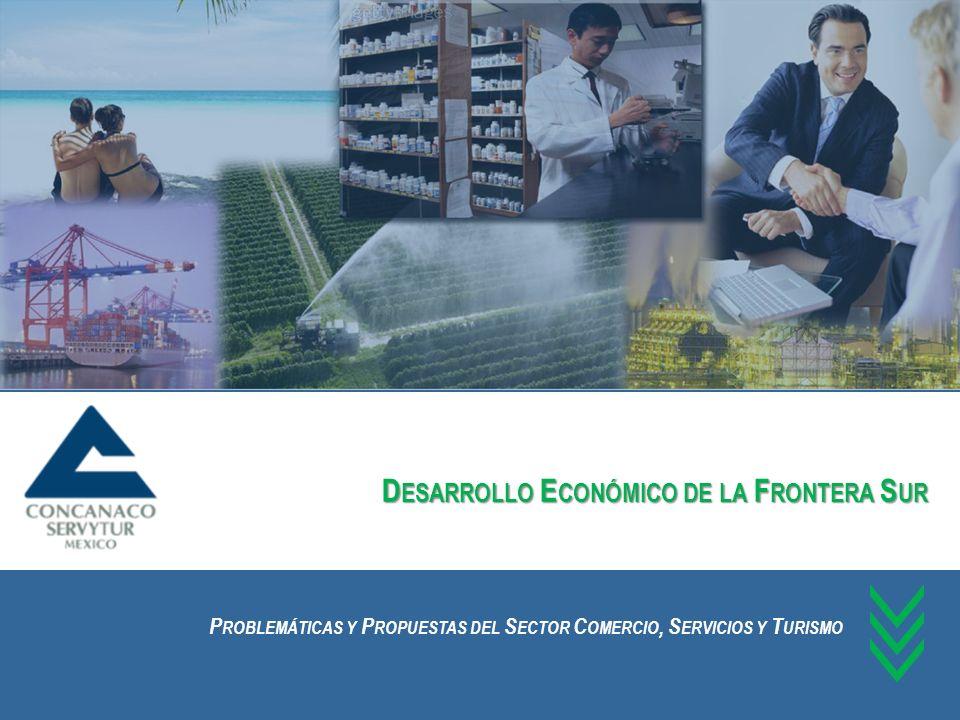 Desarrollo Económico de la Frontera Sur