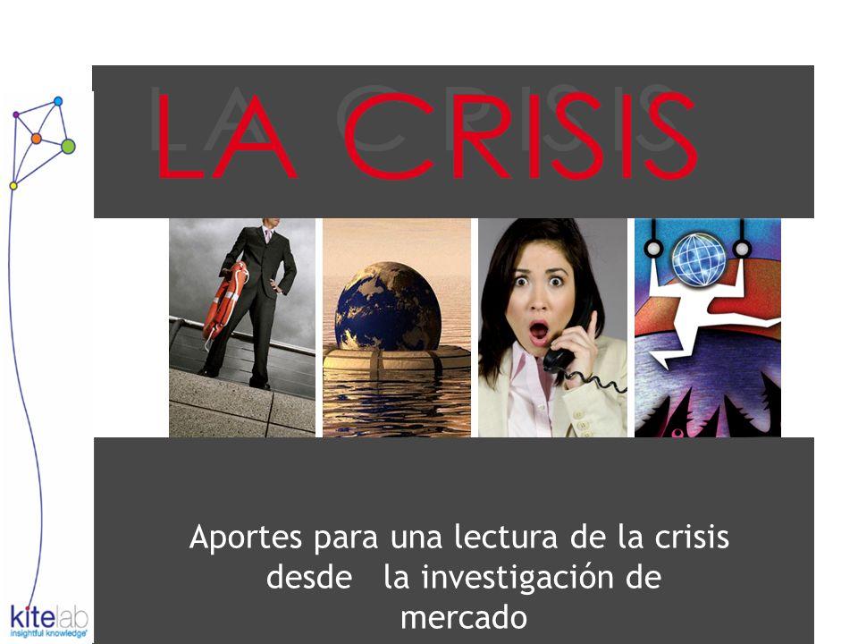 Aportes para una lectura de la crisis desde la investigación de mercado
