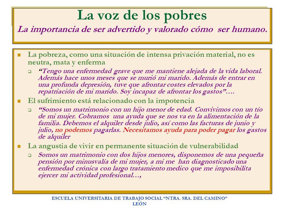 ESCUELA UNIVERSITARIA DE TRABAJO SOCIAL NTRA. SRA. DEL CAMINO