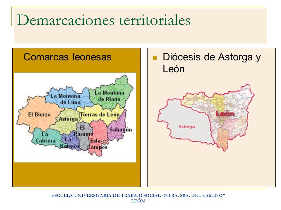 Demarcaciones territoriales