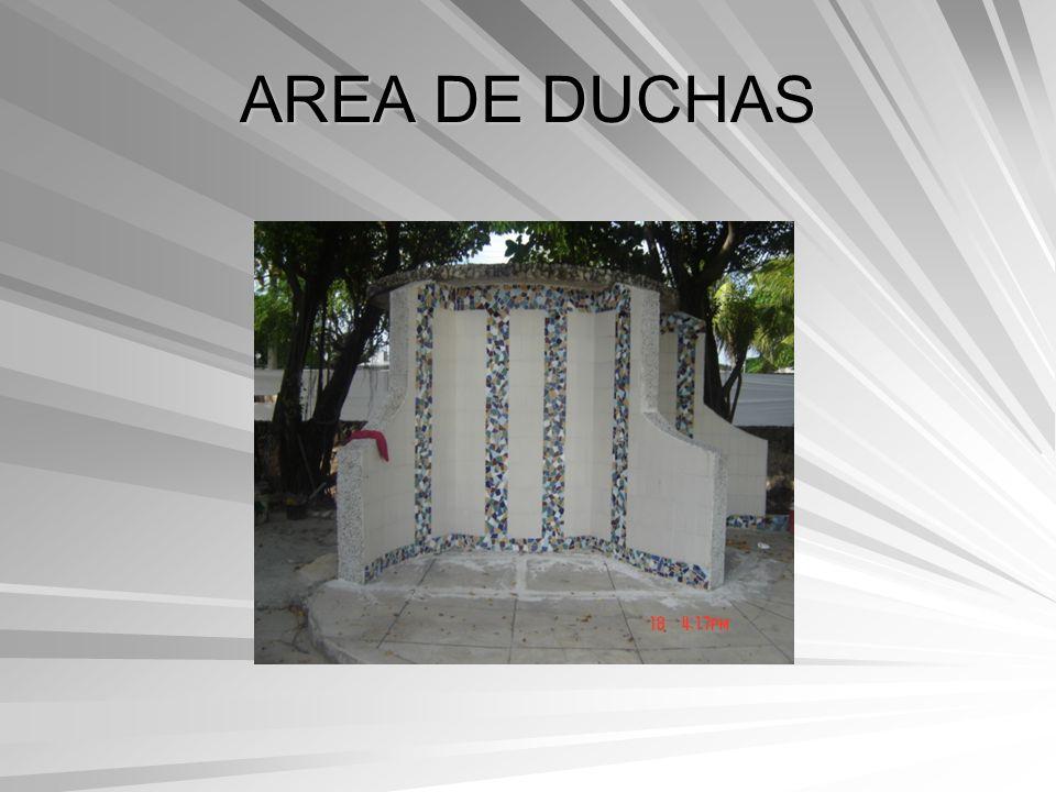 AREA DE DUCHAS