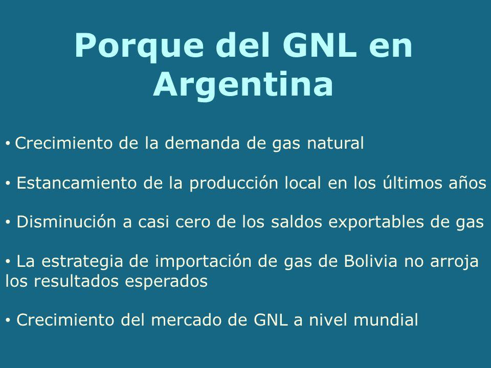Porque del GNL en Argentina