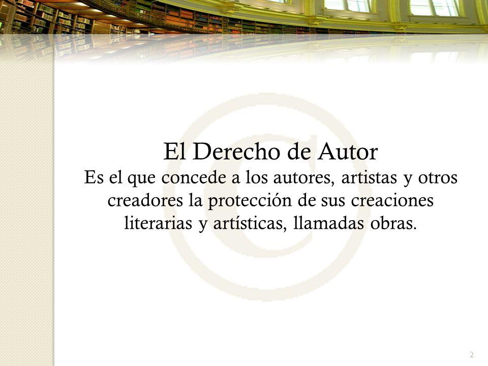 El Derecho de Autor