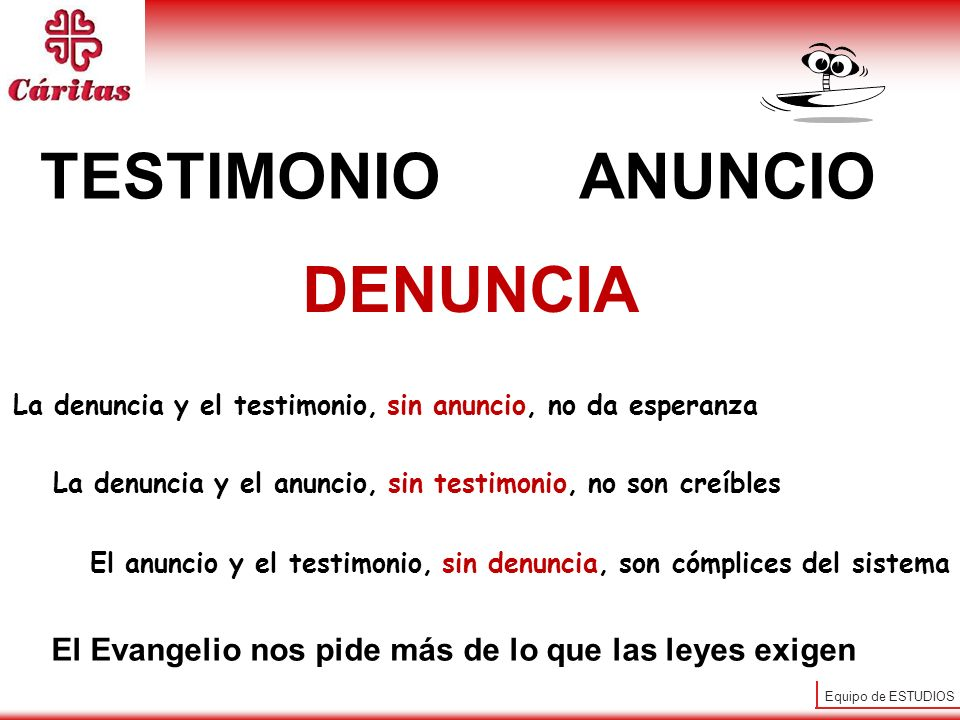 TESTIMONIO ANUNCIO DENUNCIA