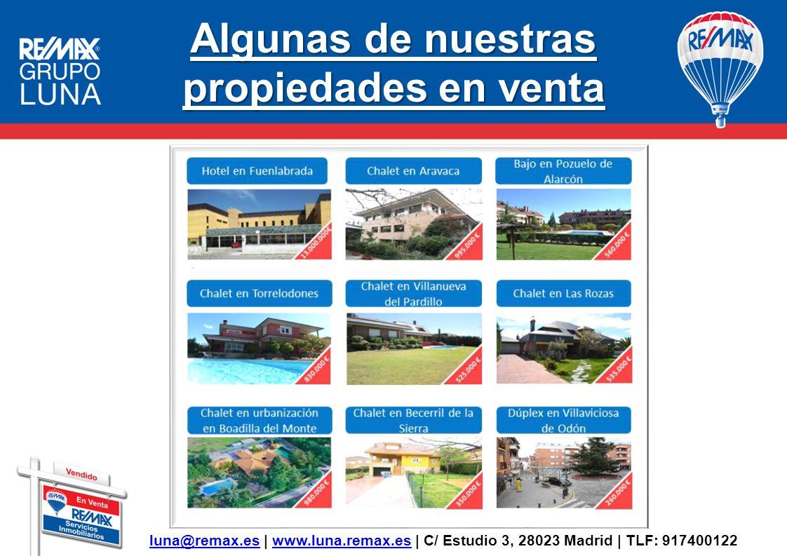 Algunas de nuestras propiedades en venta