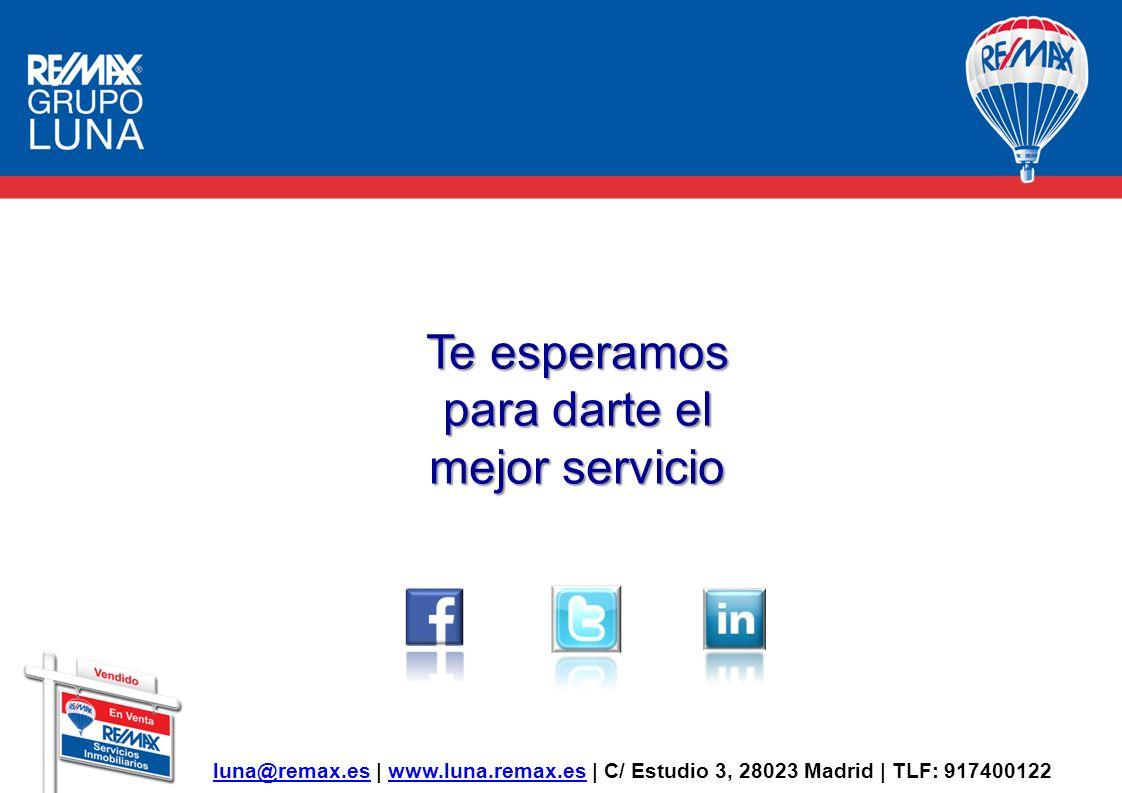 Te esperamos para darte el mejor servicio