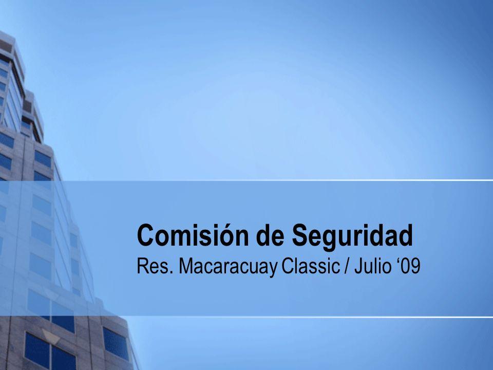 Res. Macaracuay Classic / Julio '09