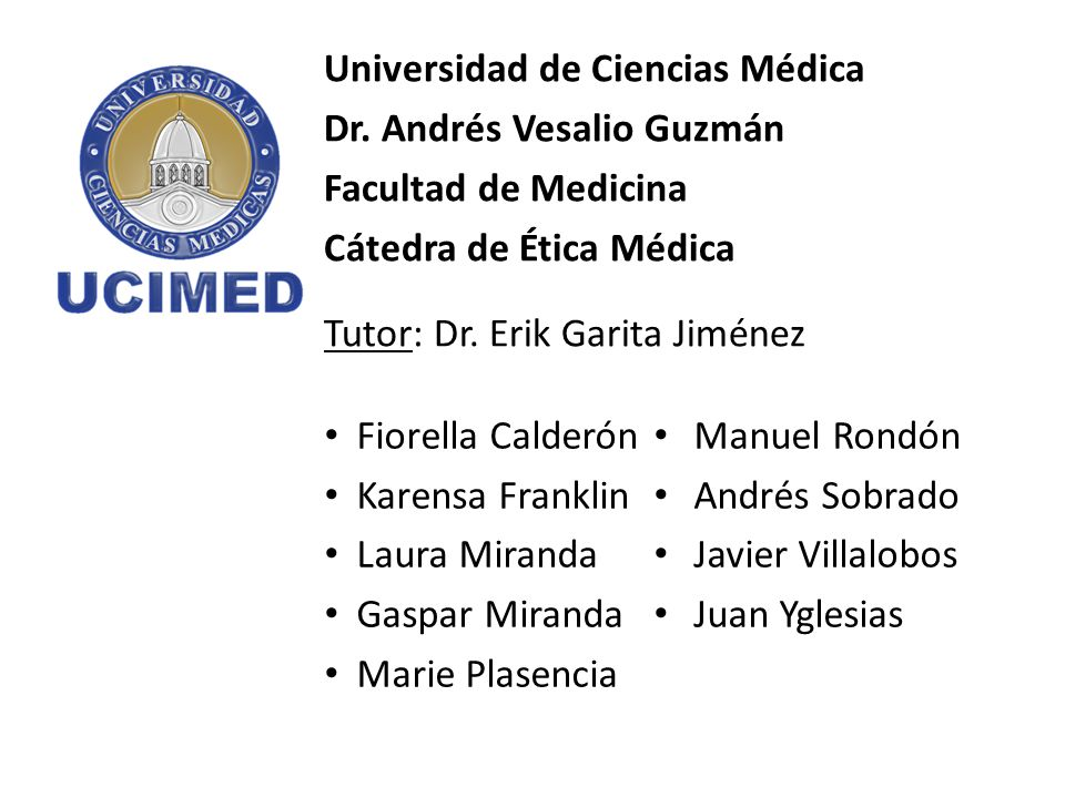 Universidad de Ciencias Médica