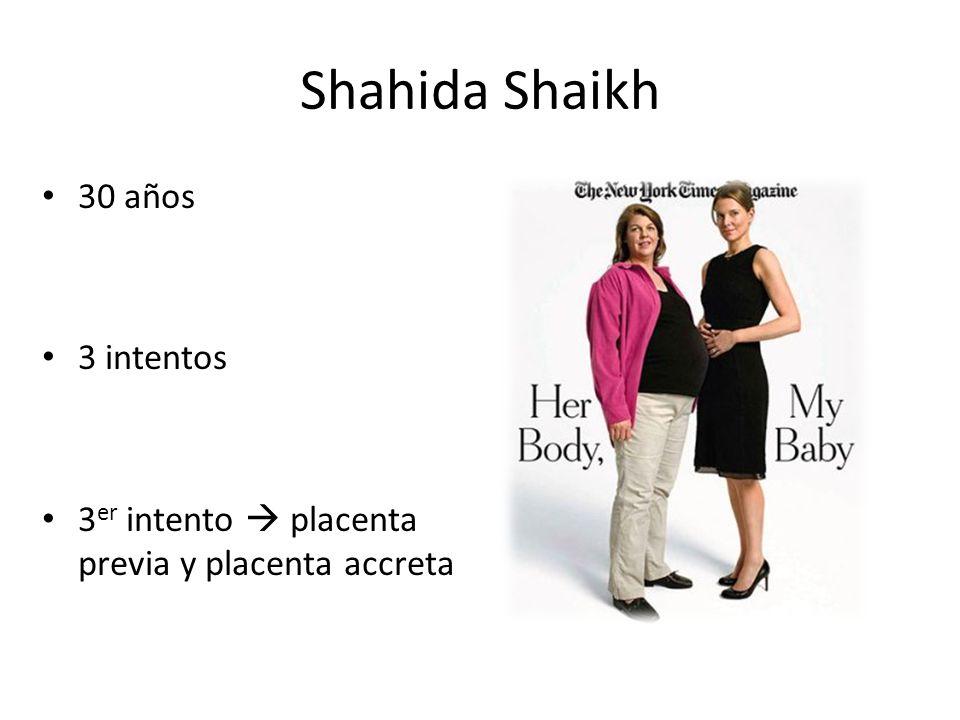 Shahida Shaikh 30 años 3 intentos