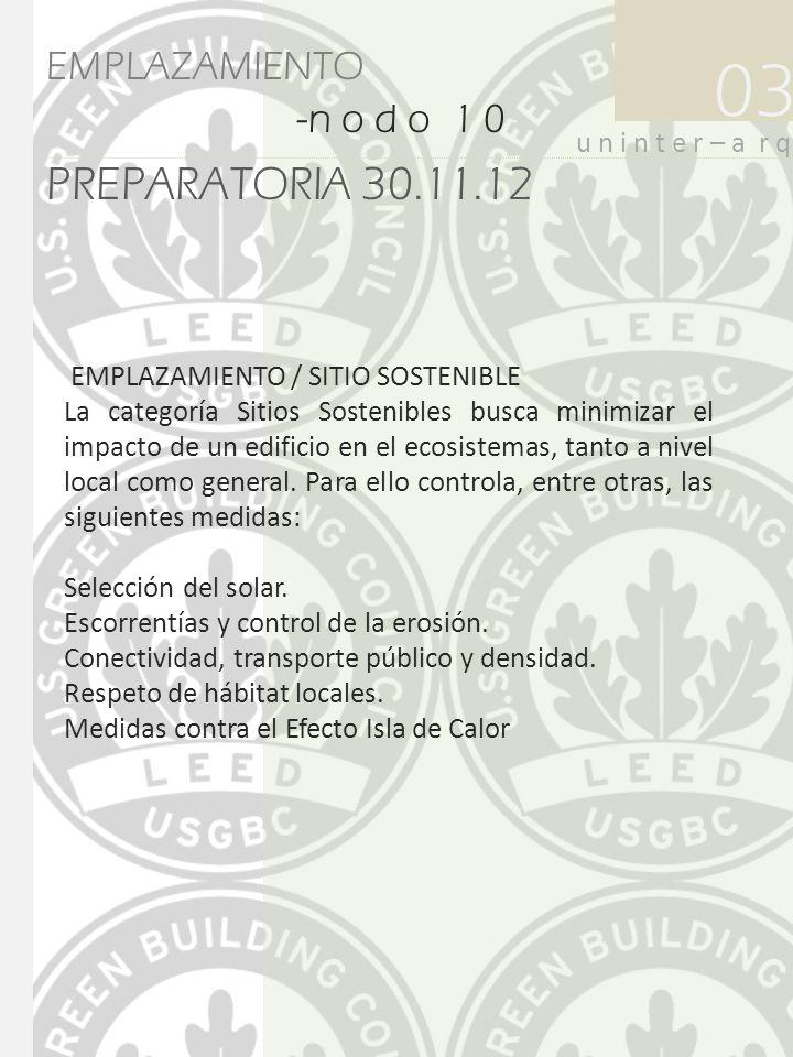 03 PREPARATORIA 30.11.12 EMPLAZAMIENTO -n o d o 1 0-