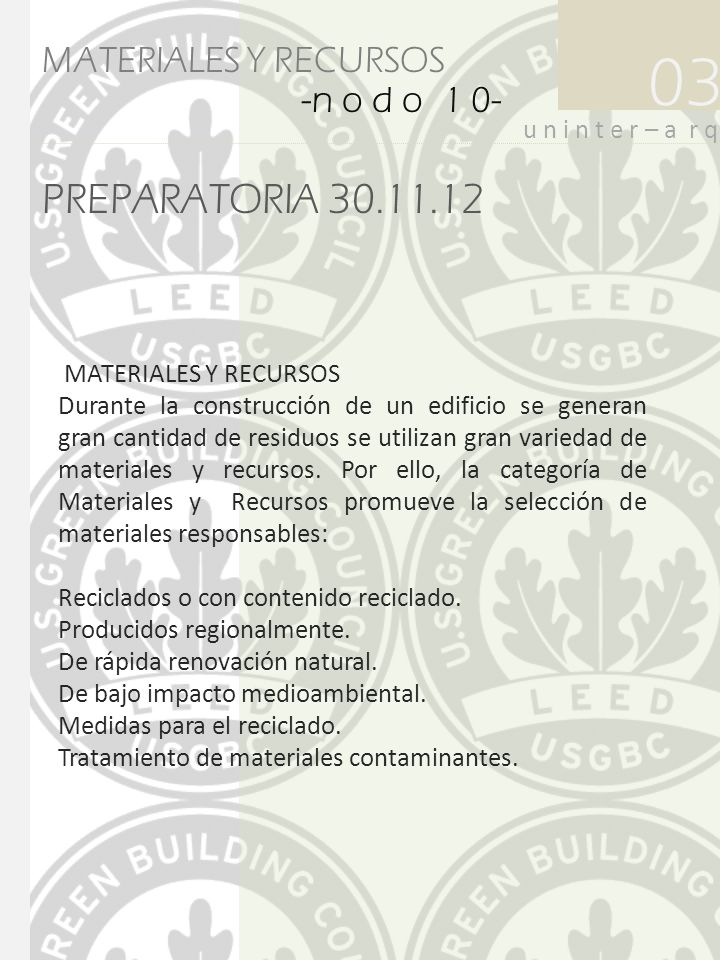 03 PREPARATORIA 30.11.12 MATERIALES Y RECURSOS -n o d o 1 0-