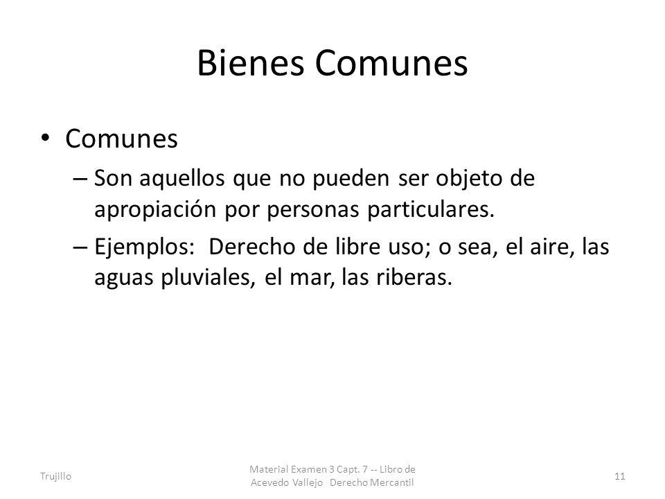 Bienes Comunes Comunes