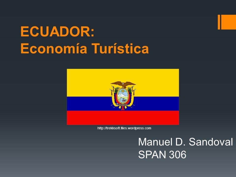 ECUADOR: Economía Turística