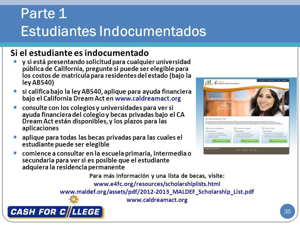 Parte 1 Estudiantes Indocumentados